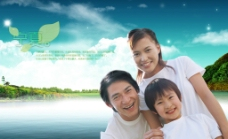 房地产家庭广告图片