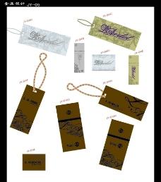La吊牌 服装吊牌图片