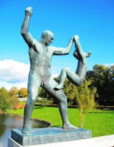 挪威雕塑图片