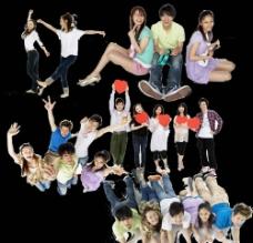 舞动青春(实际大小下不清晰)图片