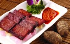 手撕酥牛肉图片