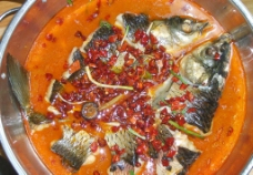 冬菇红汤鱼图片