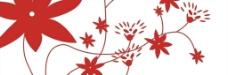 红花玻璃图片