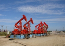 采油井场图片