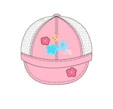 花 星星 小孩 日本帽效果图图片