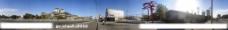国家图书馆站地铁外景360度全景图片