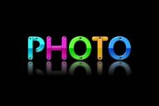 photo 字体设计图片