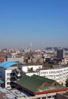 城市的屋顶图片