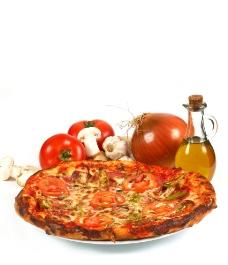 比萨饼高清图片