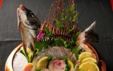 鲷鱼刺身图片