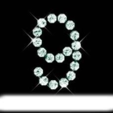 宝石字母9