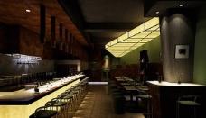 3d酒吧模型带贴图图片