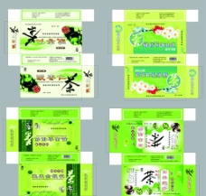 包装设计保健茶盒图片