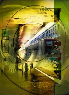 地铁车站图片