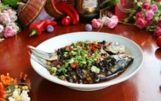 豆豉蒸鲫鱼图片