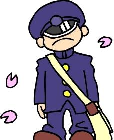 戴着帽子的卡通人物图片