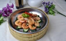 美极铜盆虾图片