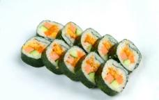 蟹黄寿司图片