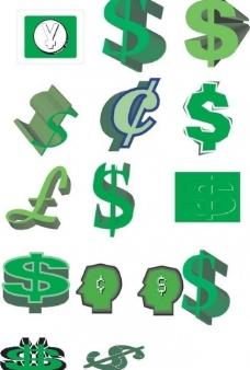 钱币符号图片