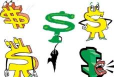 创意钱币符号图片