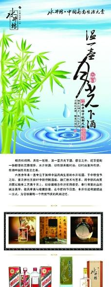 中国白酒展板图片