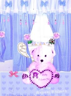 小熊的家图片