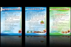 食品安全展板图片