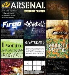 GoMedia出品的一套英文字体