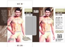 男裤包装图片