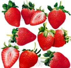 高清草莓图片