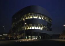标志性建筑物场景模型图片