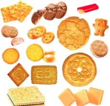 饼干分层图片