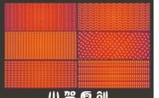 红色的喷绘底纹背景图片