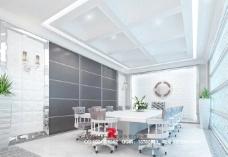 欧式风情会议室3dsmax室内设计模型vray带全部贴图图片