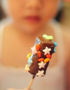 小朋友喜爱的DIY雪糕图片