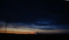 台中的夕阳图片