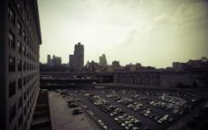纽约 曼哈顿的黄昏时分图片