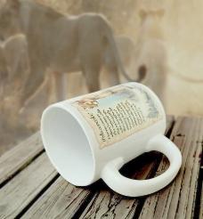 美国探险非洲狮子马克杯图片