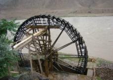 黄河水车图片