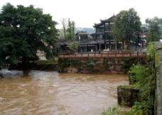 天台山古镇图片