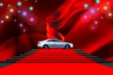 红毯 汽车图片
