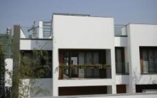万科套图系列 清新 简洁 大气 房子 别墅 蓝天 阳台 休闲图片