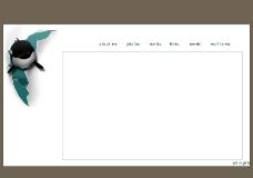个人主页PSD分层素材图片