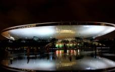 夜游上海世博会图片