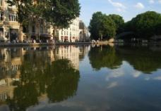 法国巴黎圣马丁运河图片