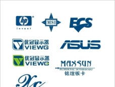 品牌电脑logo图片