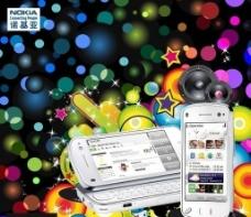 诺基亚N97图片