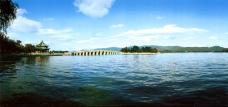 远眺十七孔桥