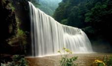竹海瀑布珍珠滩图片