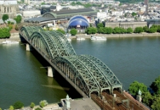 德国霍亨索伦桥图片